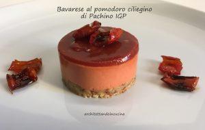 La ricetta della bavarese al pomodoro di Pachino Igp