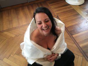 La food blogger Sabrina Fattorini